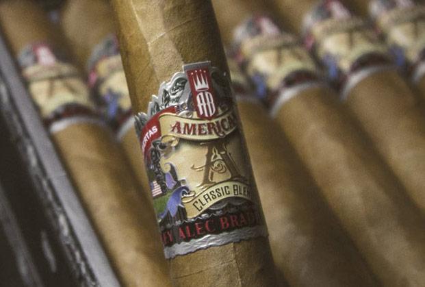 Alec bradley american classic blend churchill rare cigar for American classic logo