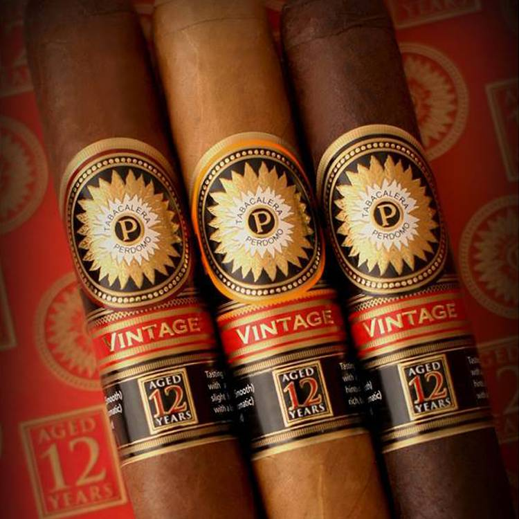 Perdomo Double Aged 12 Year Vintage Cigars