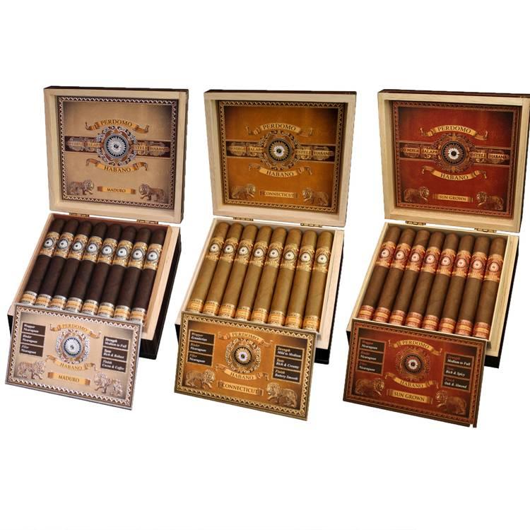 Perdomo Habano Bourbon Barrel Aged Cigars