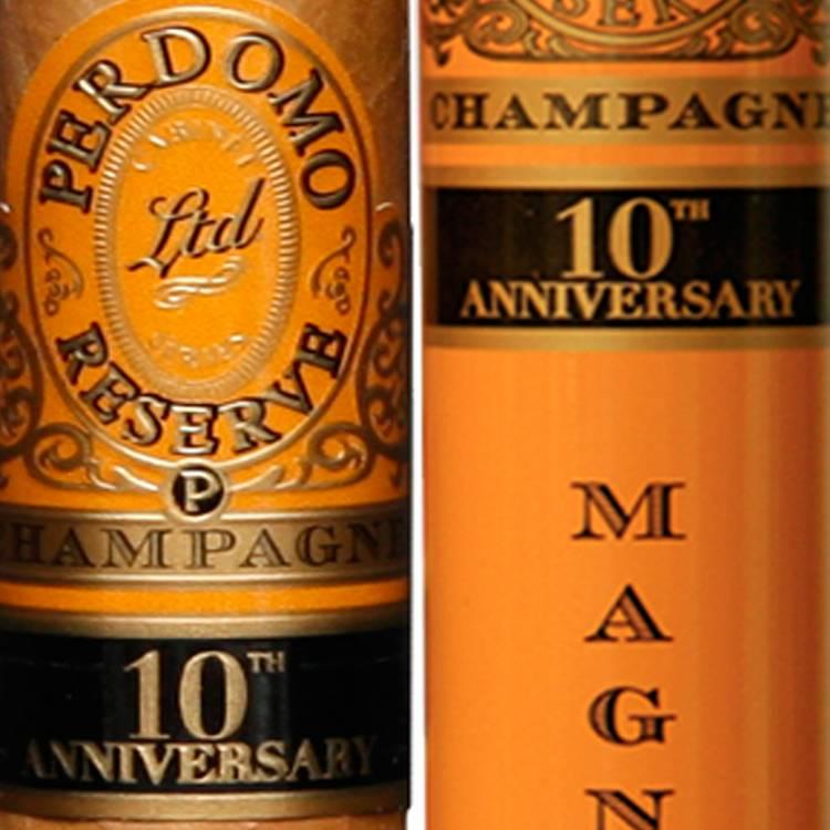 Perdomo Reserve 10th Anniversary Champagne Cigars