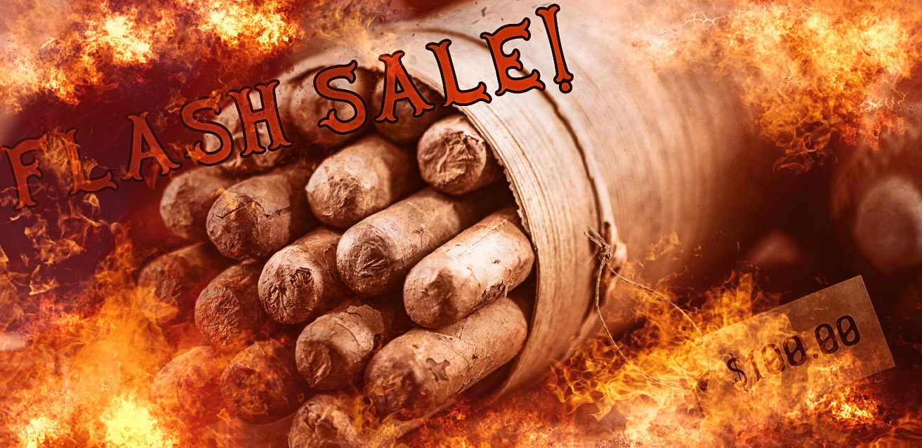 Cigar Flash Sales