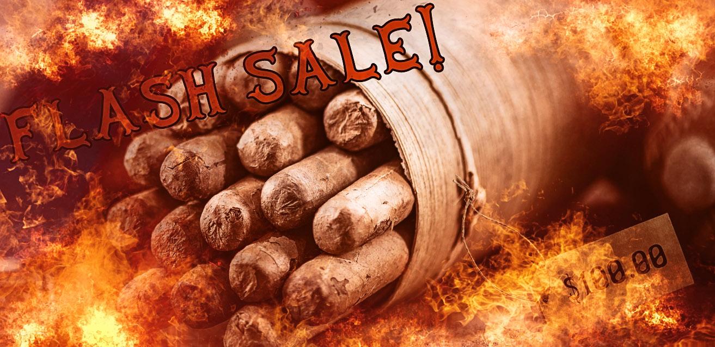 Cigar Flash Sales