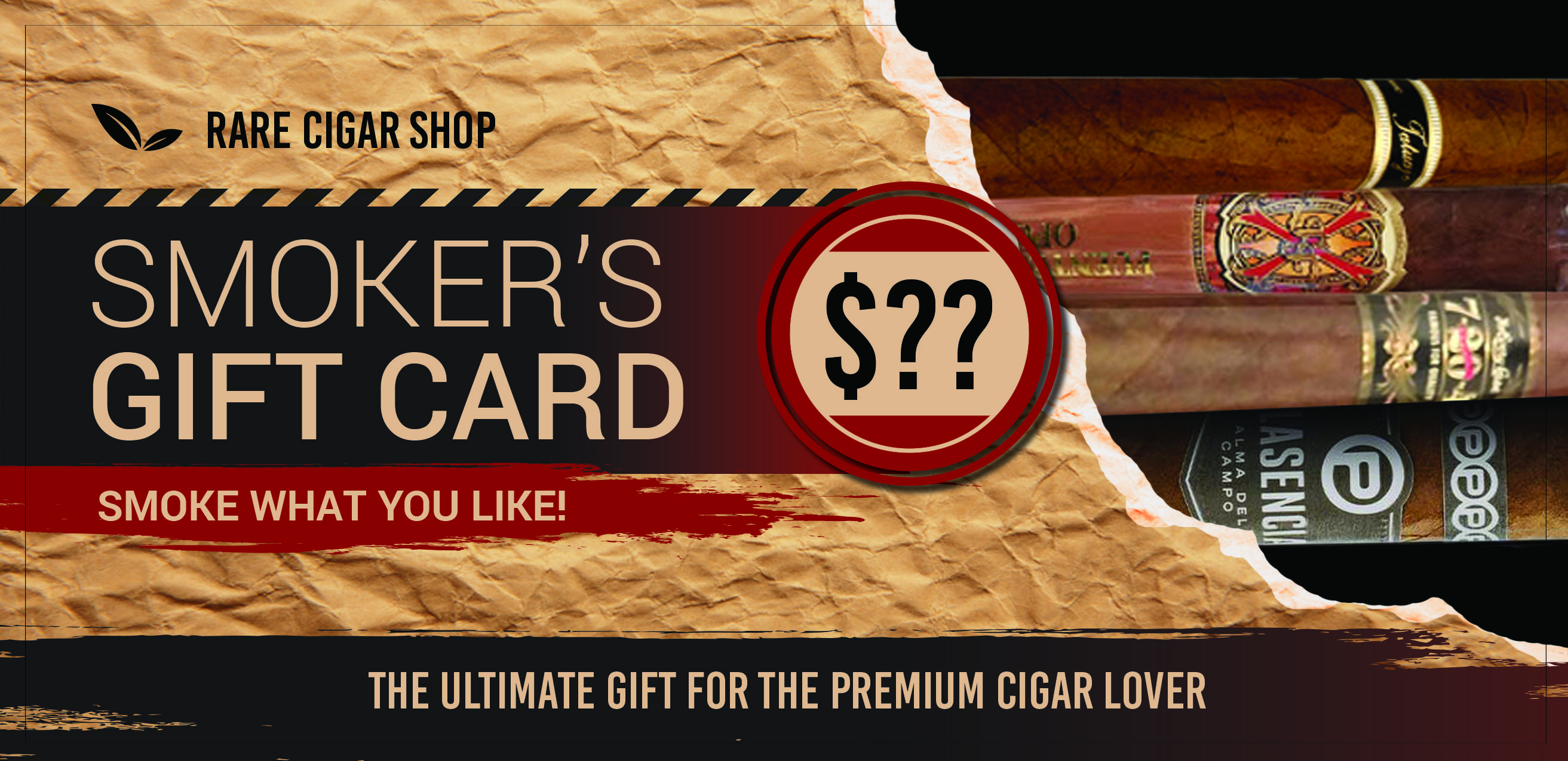 Cigar Gift Cards